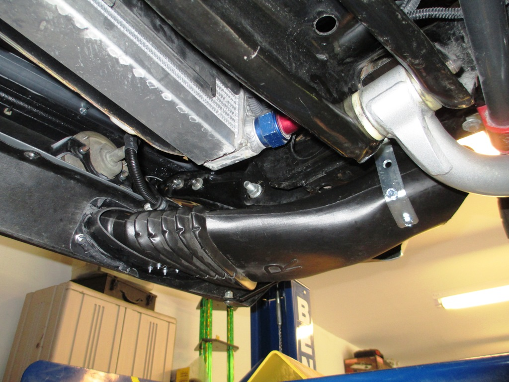 69 Camaro Front Spoiler Brake Duct Cooling
