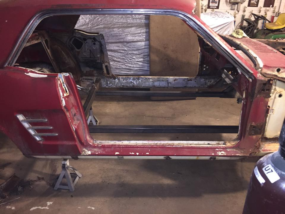 Payback Garage Built Full Frame 66 Fastback Conversion