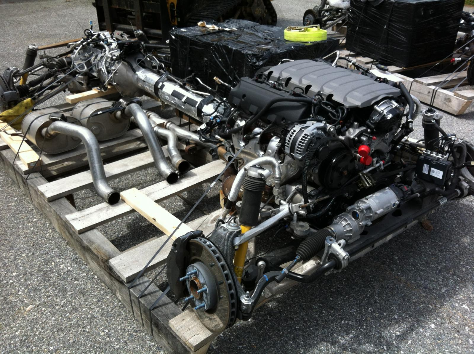 2014 C7 Corvette Complete Quot Rolling Chassis Quot With Driveline