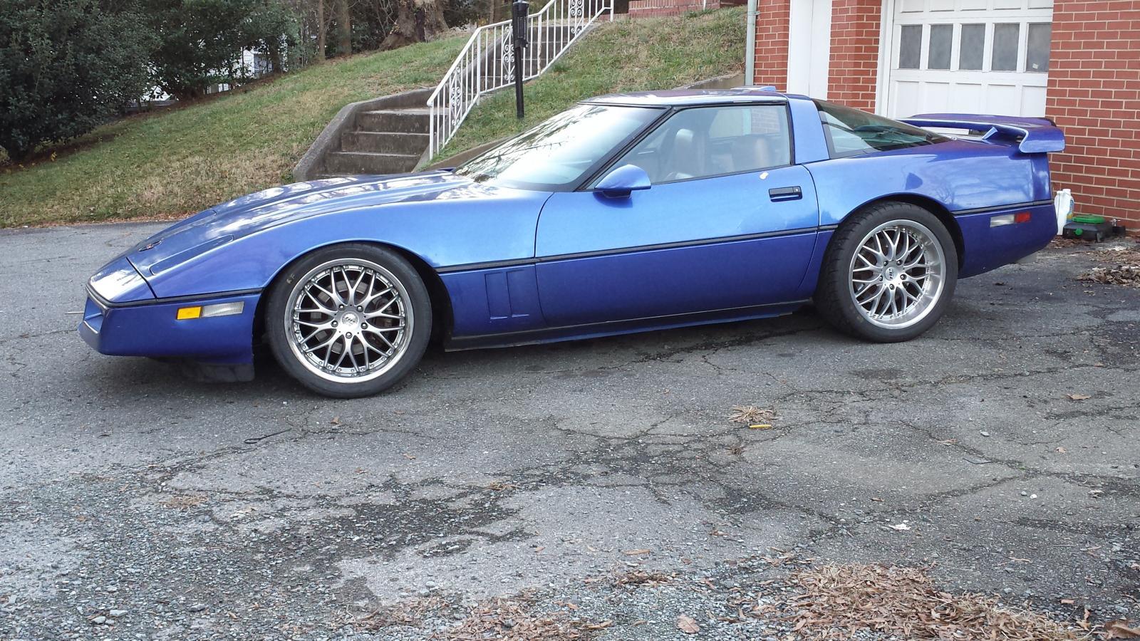 C4 Corvette build