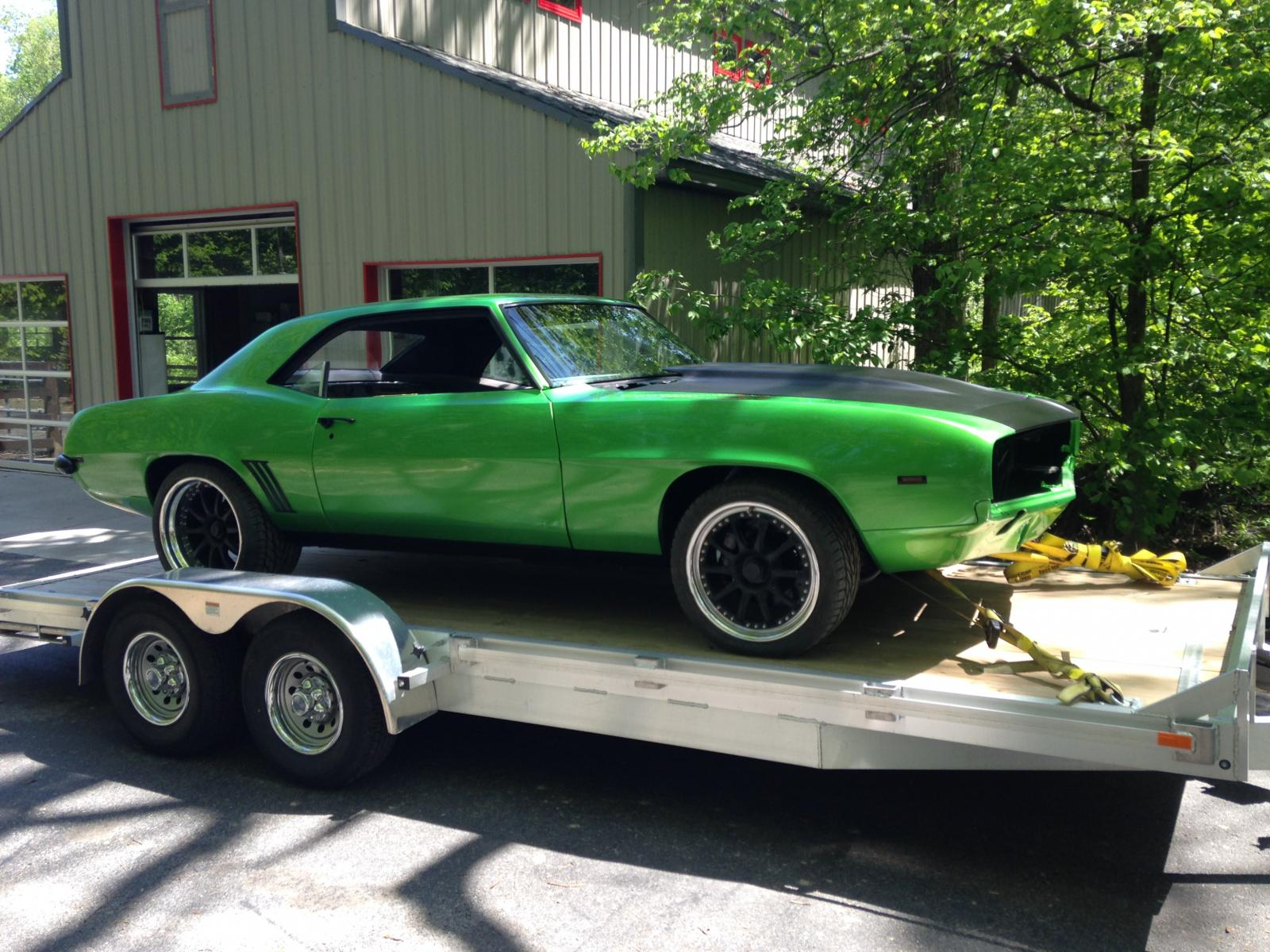 1969 Protouring Camaro For Sale Synergy Green