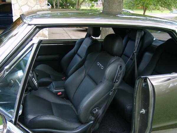 Gto Seats In A Camaro