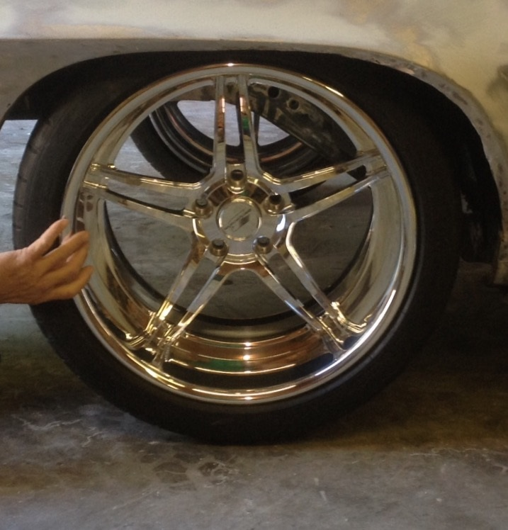 Billet Specialties Pro Touring Daytona Wheels Michelin