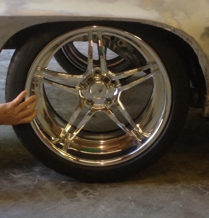 Michelin Pilot Sport >> Billet Specialties Pro Touring Daytona Wheels /Michelin ...