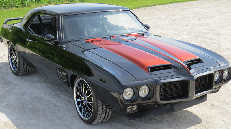 1969 firebird trans am replica pro touring ls1 with 4l60e. Black Bedroom Furniture Sets. Home Design Ideas