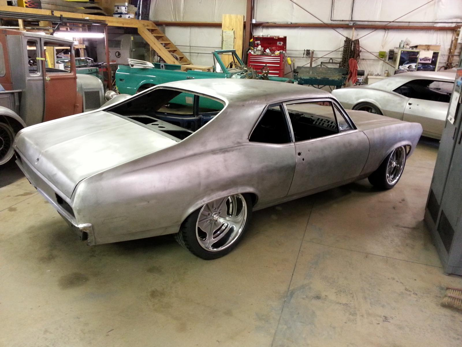 1970 Chevrolet Nova Pro Touring Detroit Speed Equipped