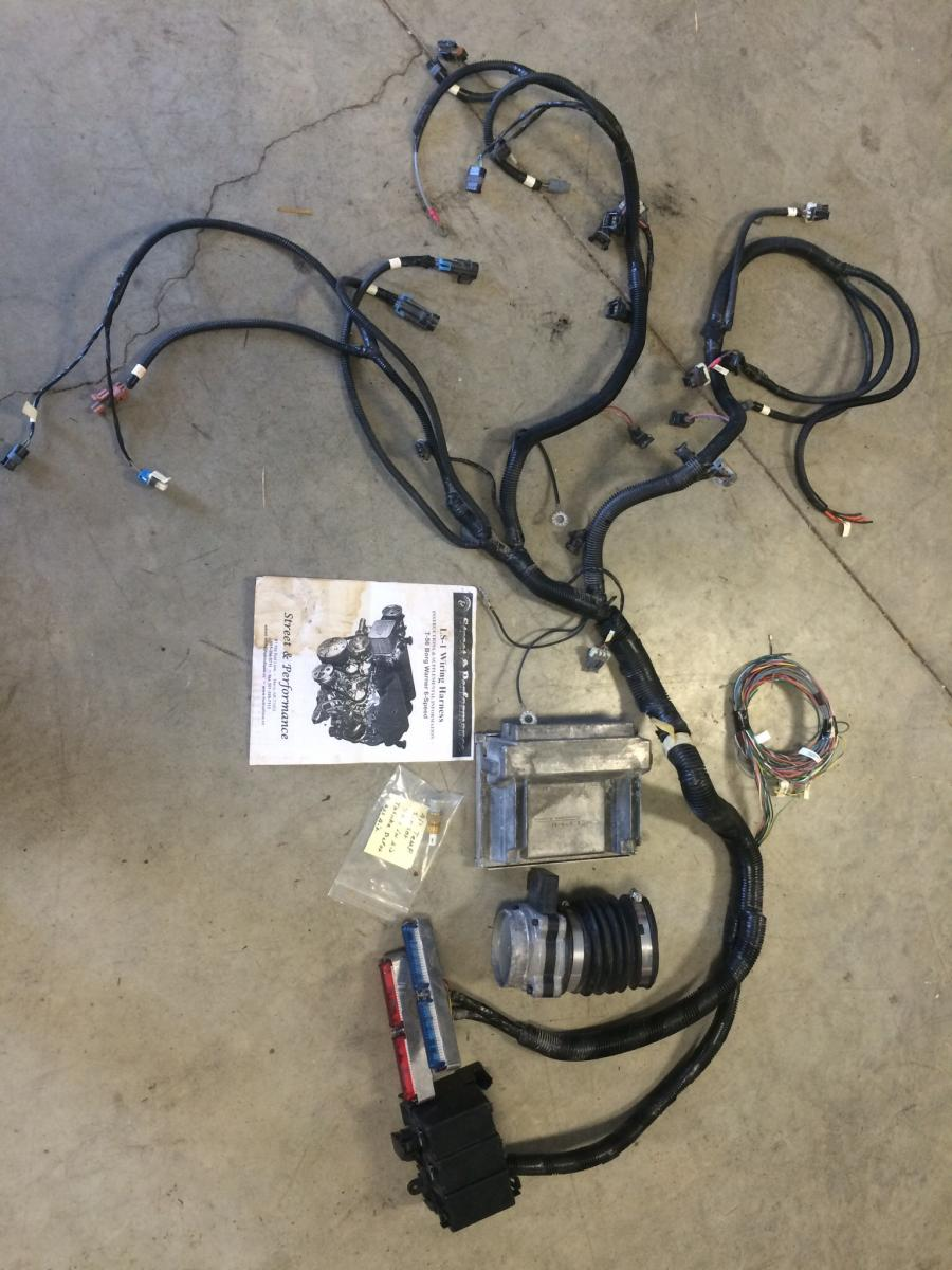 Ls t custom wiring harness