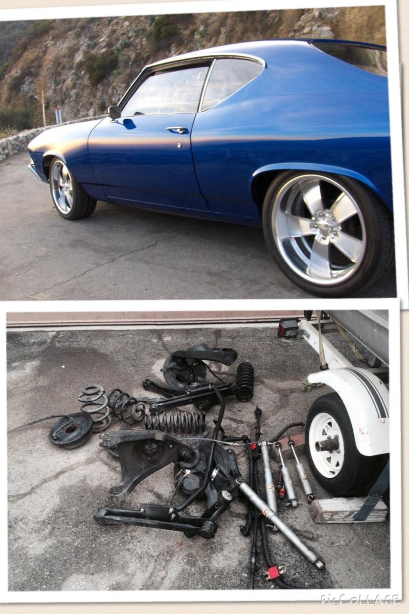 1968 1972 Gm A Body Complete Suspension Chevelle