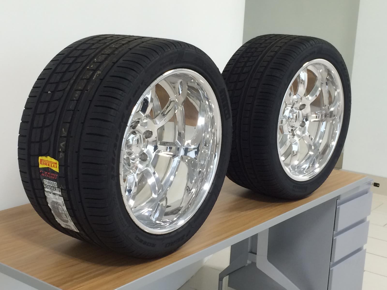 Pro Touring Tire Wheel Set 69 Camaro