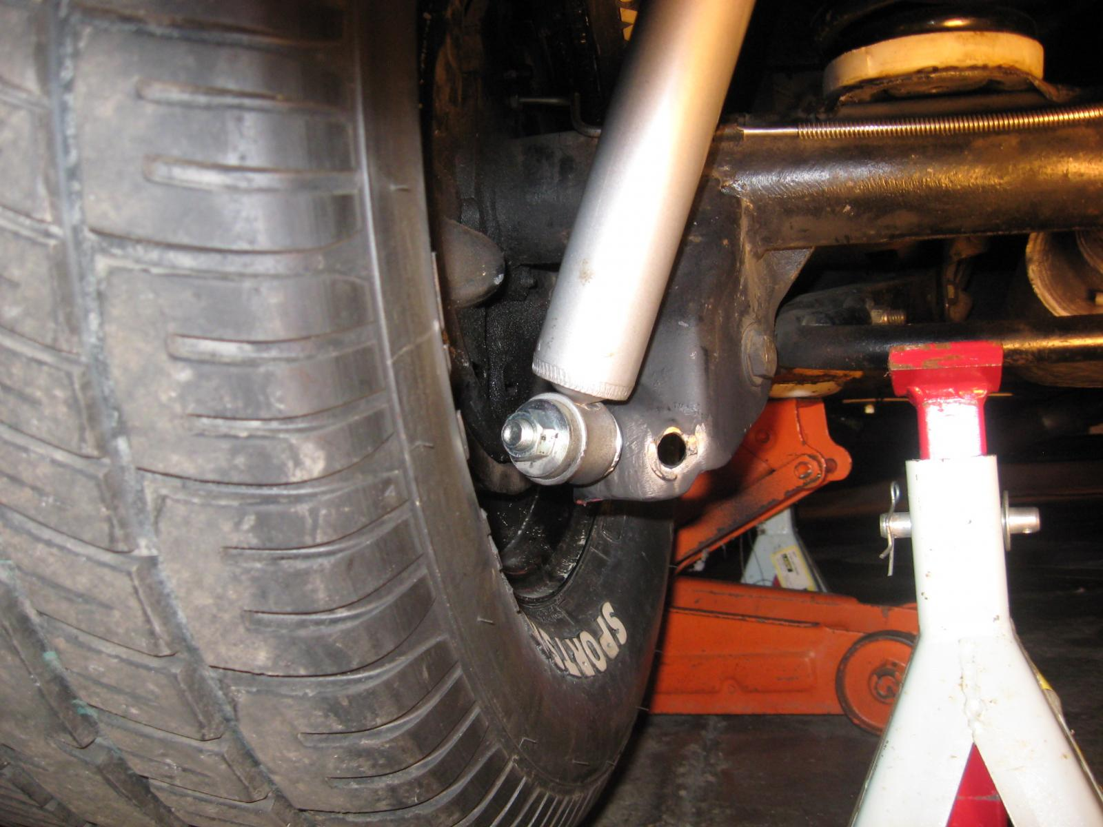 how to take the shocks out