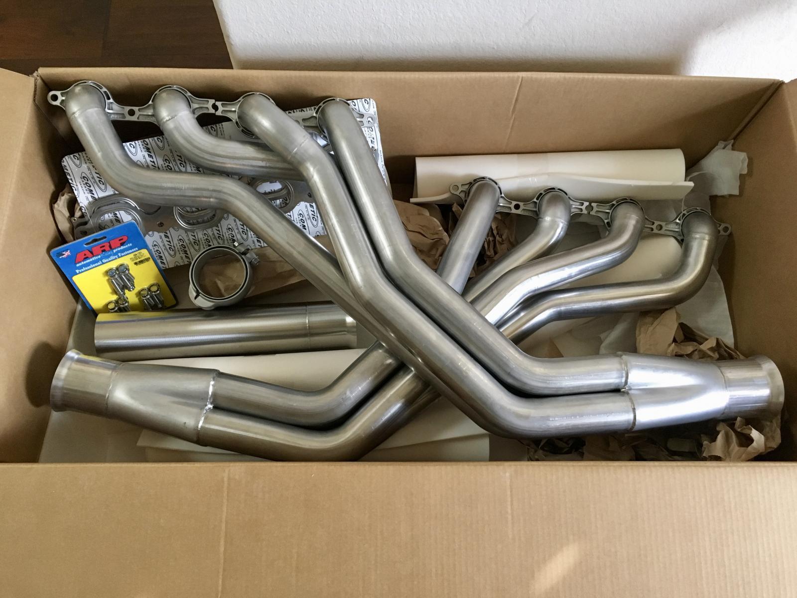 LT1/LT4 Stainless Steel Headers for Art Morrison Chassis****The ...