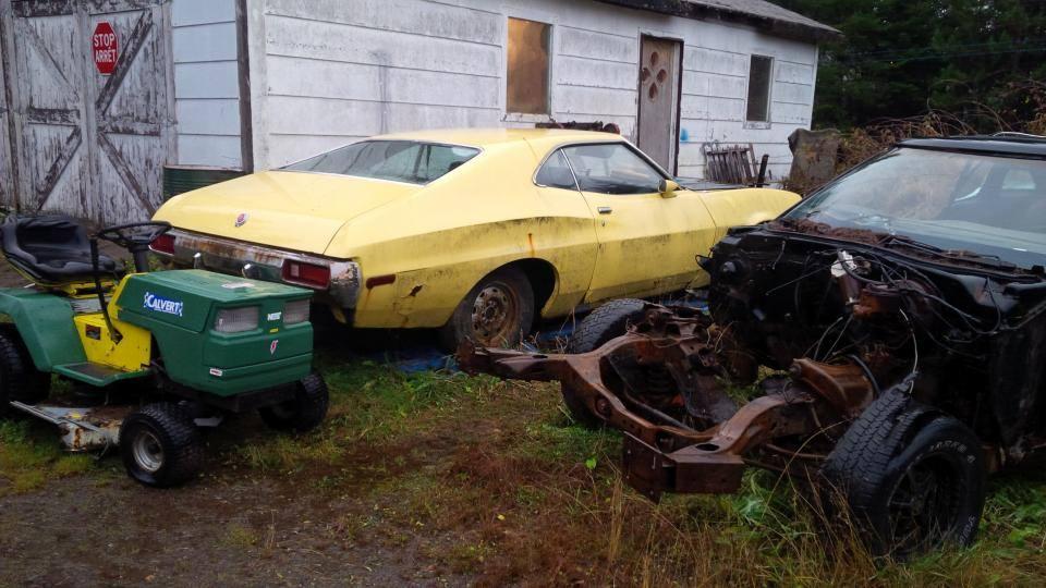 1972 Gran Torino Sport project-Coyote swap