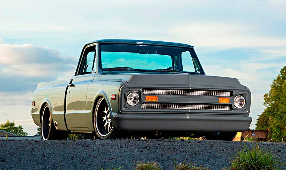 69 C10 On Boze Pro Touring Wheels