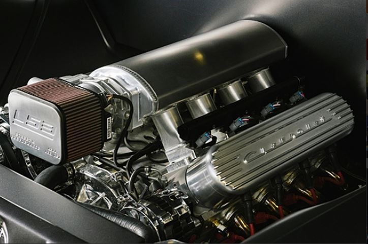 LS3 square air filter from Street and Performance