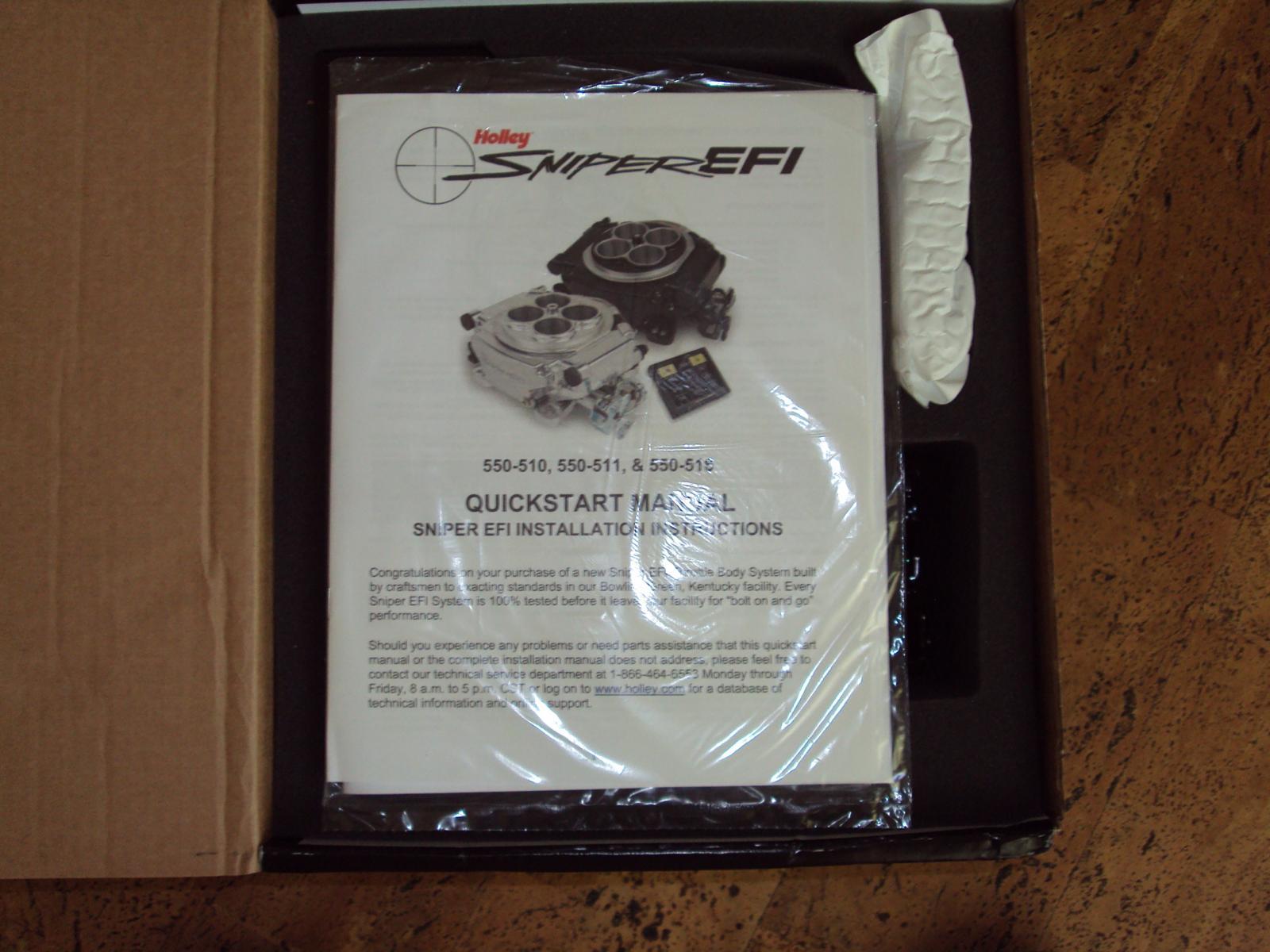 Holley Sniper EFI System