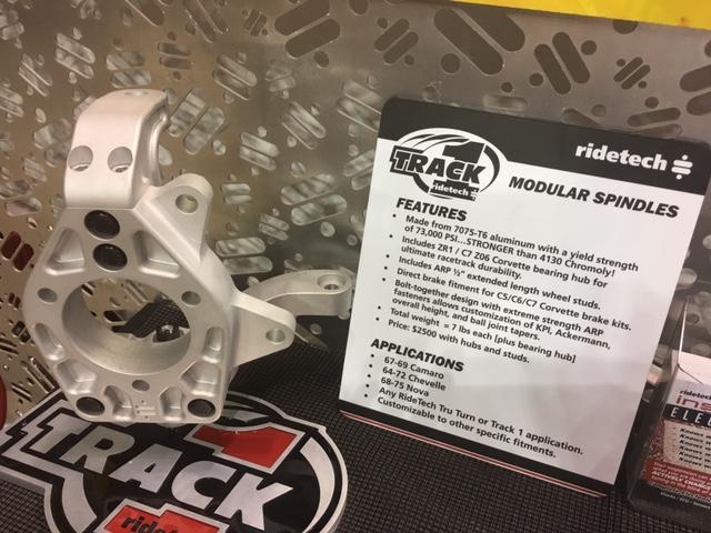 Ridetech Modular spindle?