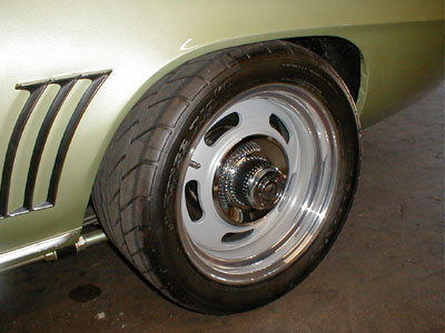 17 Quot Rally Wheels On A 1967 68 Camaro