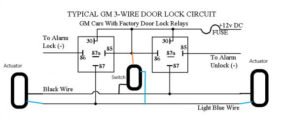 power door lock wiring  pro-touring.com