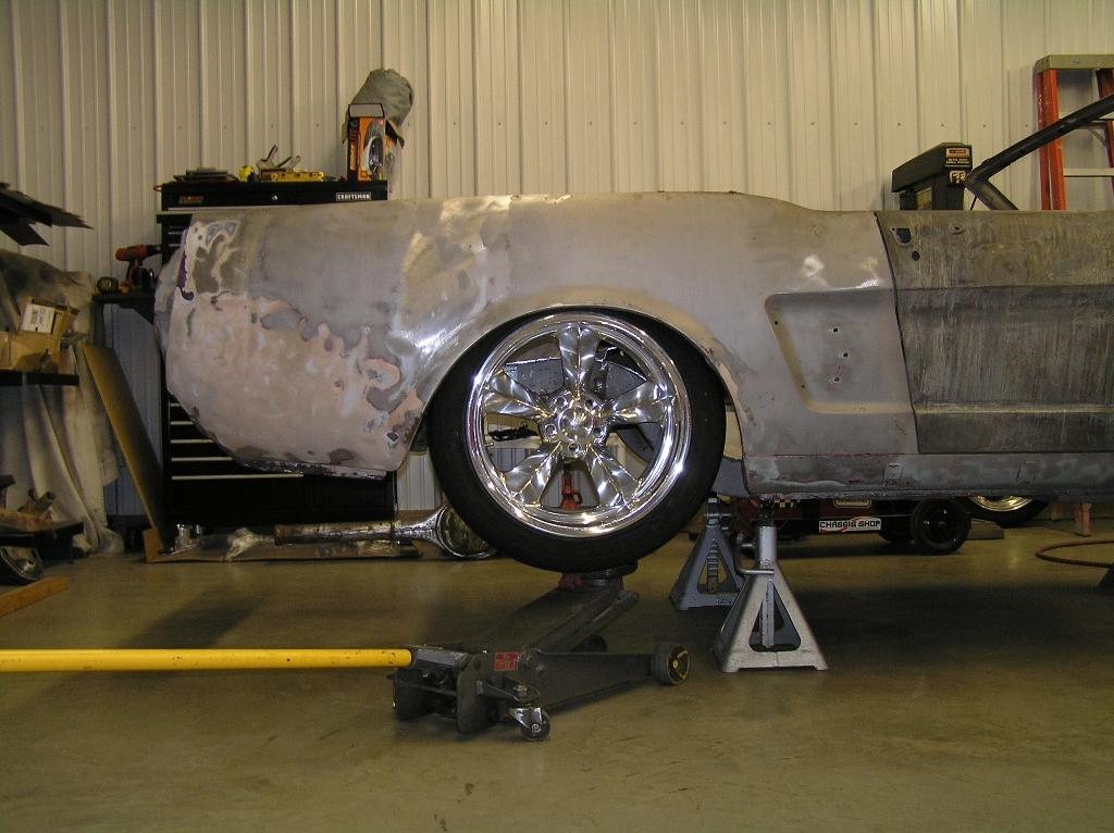 65 66 Mustang Wheel Size Pics