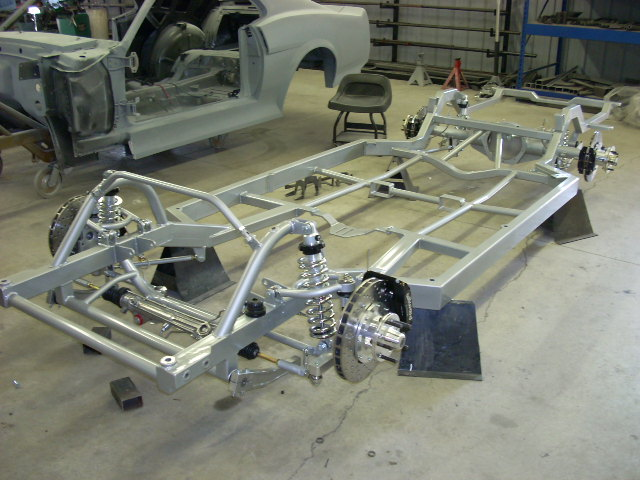 New Chassis Pictures Of Schwartz Chassis For 65 Gto