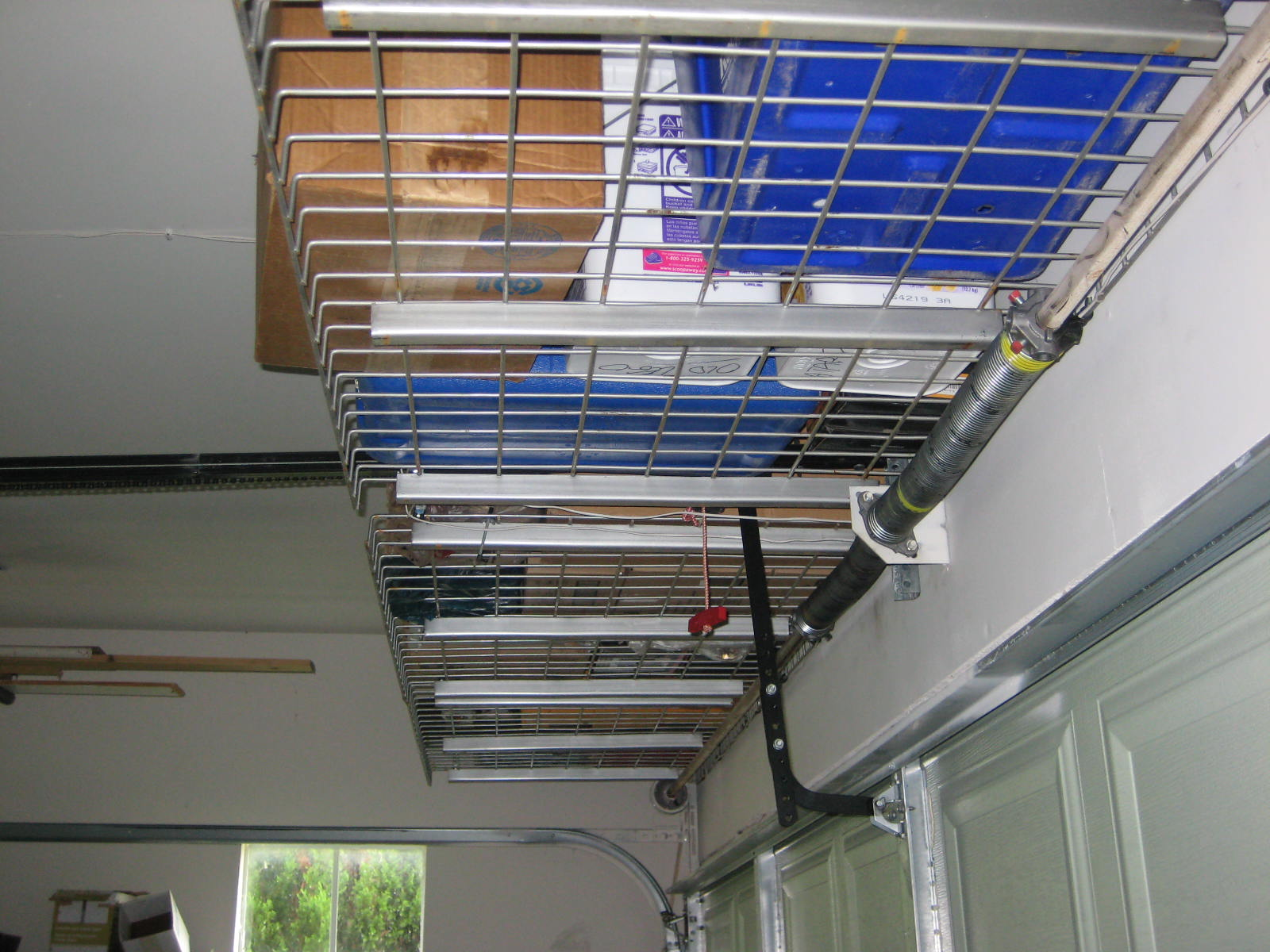 Do It Yourself Overhead Storage