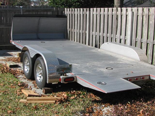Locking Trailer Hitch Pin >> Aluminum Texas Rollback Trailer FS Jacksonville