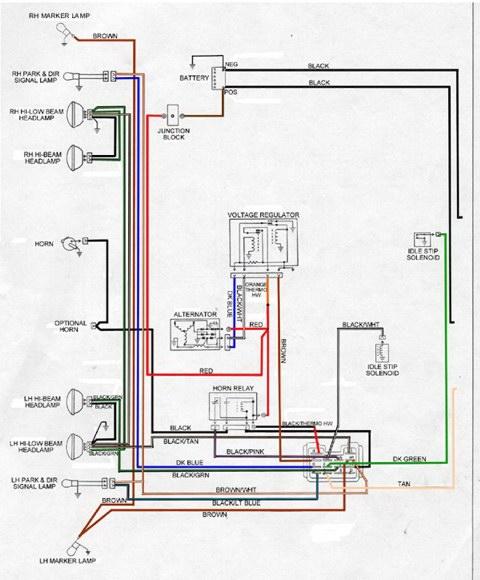 Light Switch Wiring Diagram 68 Gto: 68 Firebird (Project: Firechicken)