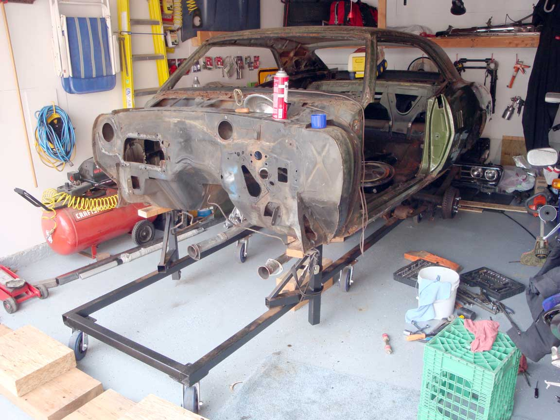 Car Body Dolly Plans