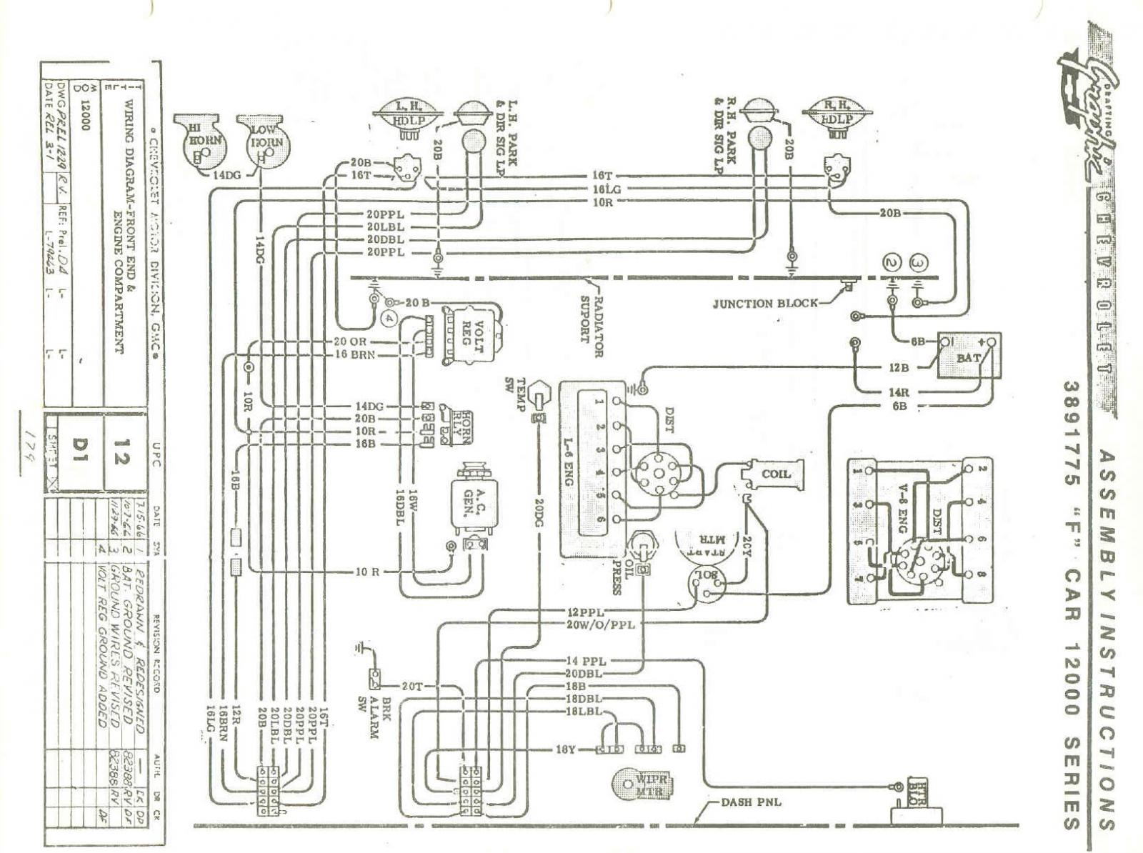 ... H4 Headlight Wiring Question on 1967 firebird wiring diagram, 1965 gto wiring  diagram, 68 ...