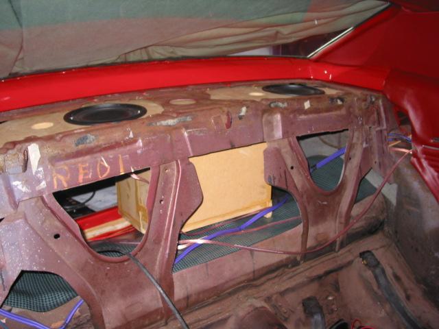 Rear Shelf Sub Woofer In F Body