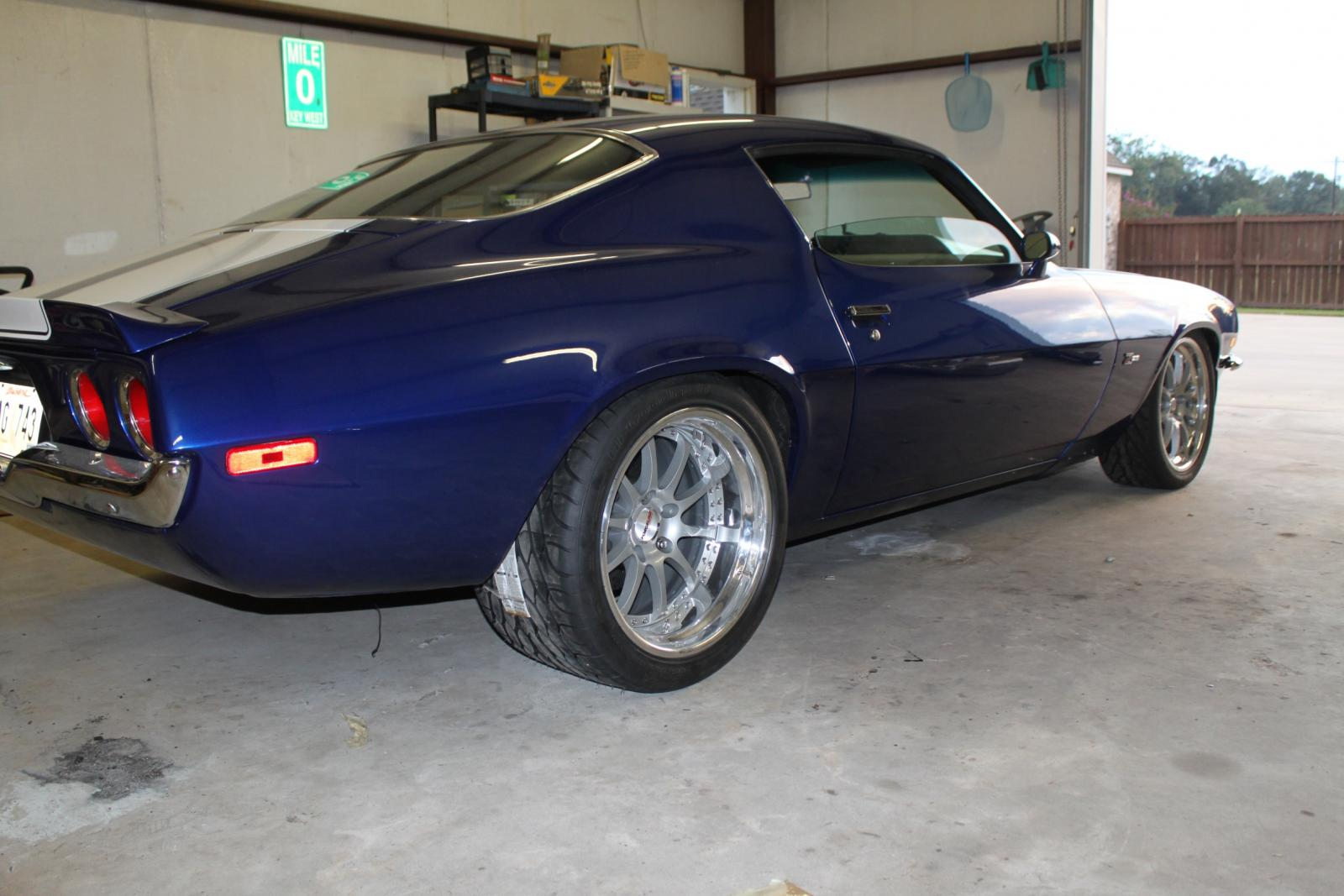 1971 Camaro Project Update Almost Done