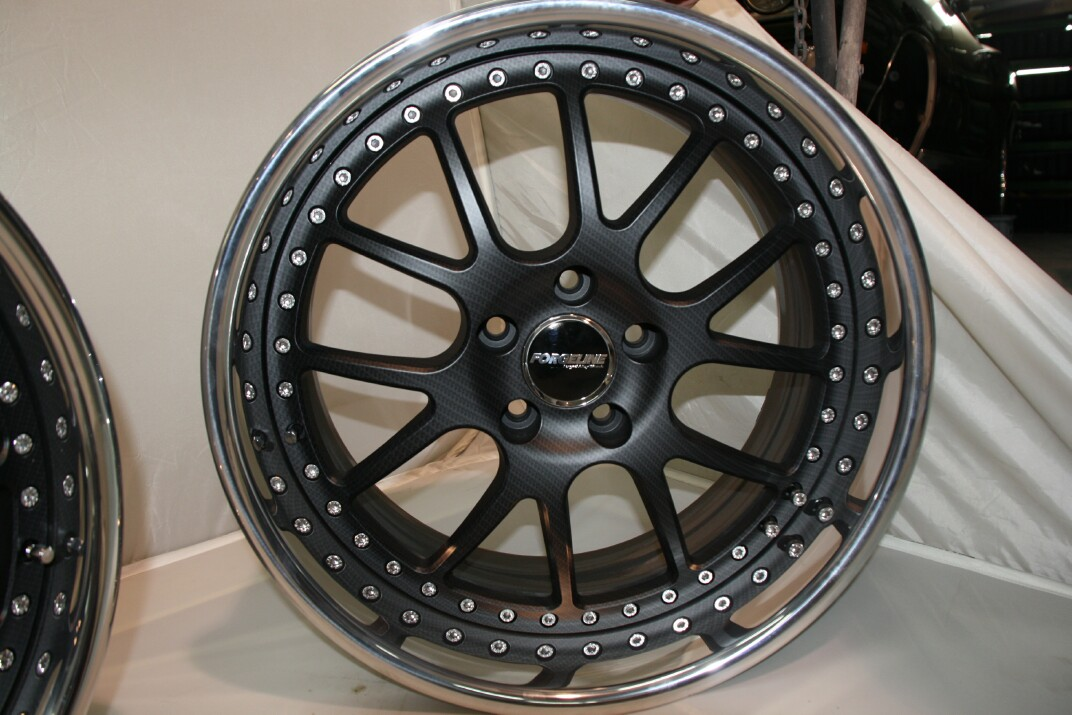 Carbon Fiber Forgeline Wheels - Say it ain't SO !!!!