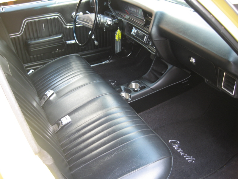 Center Console For Bench Seat Chevelle
