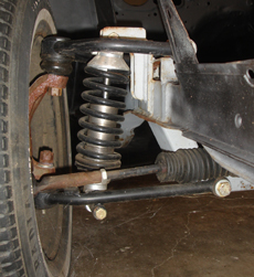 Mustang II MII spindle brake combinations