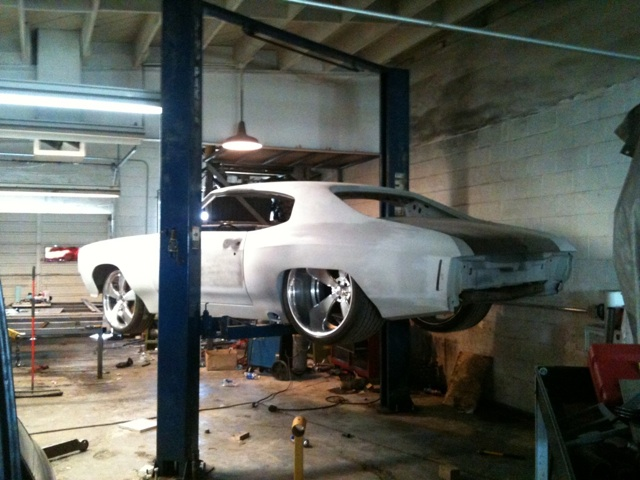 71 wide body Chevelle 572 by LPZ INC