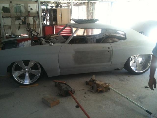 71 Wide Body Chevelle 572 By Lpz Inc