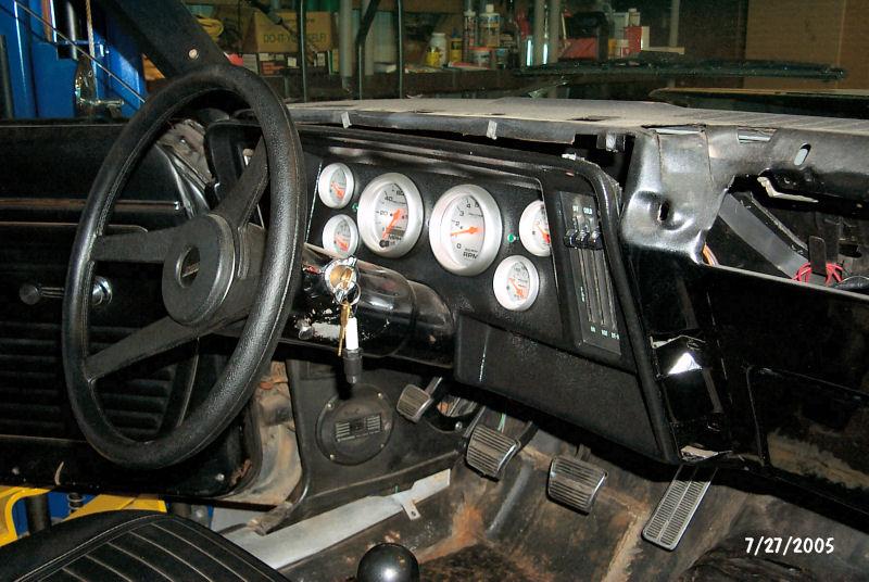 1969 Camaro Instrument Cluster