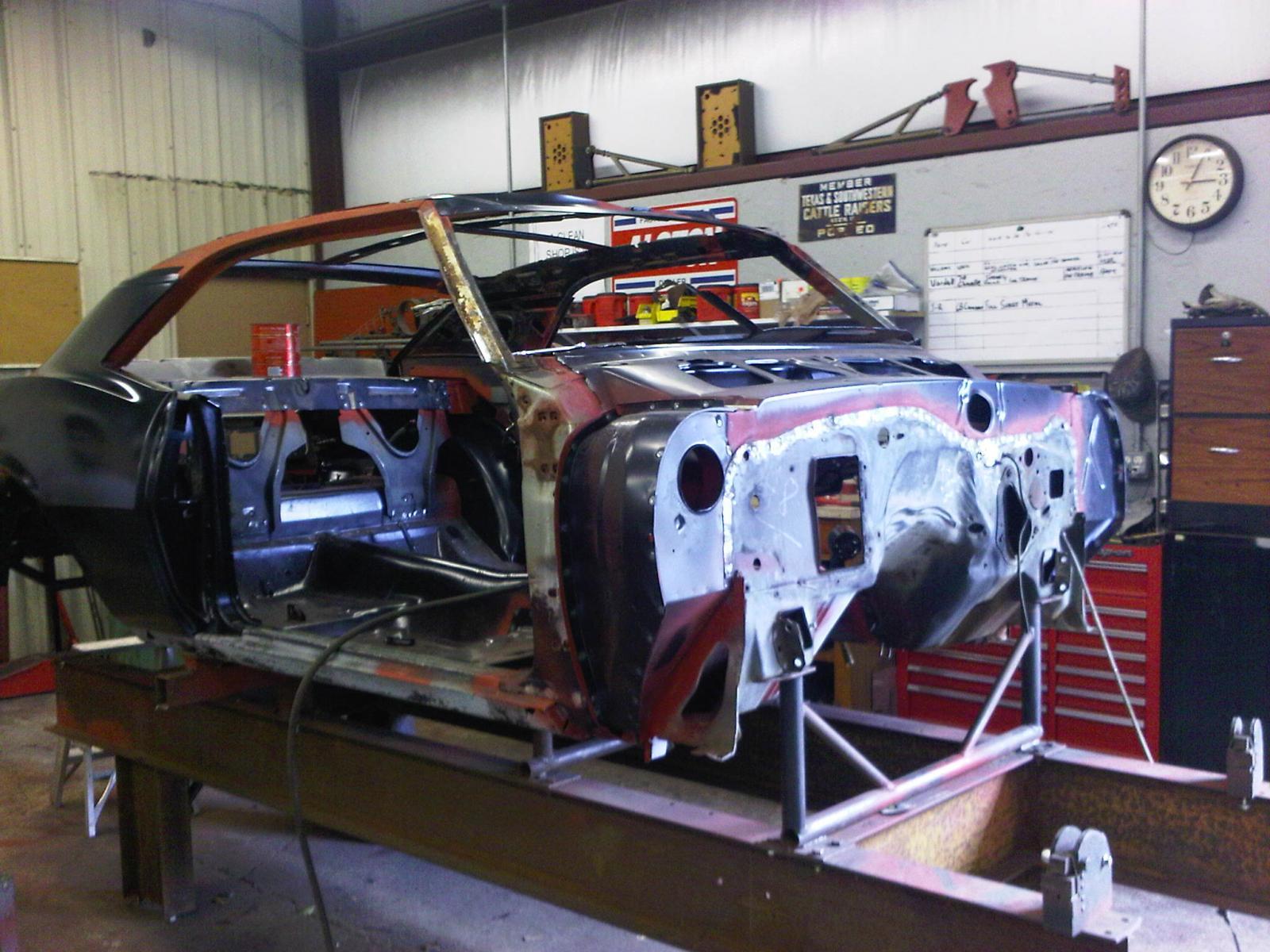 Project Mad Max 1968 Camaro Build