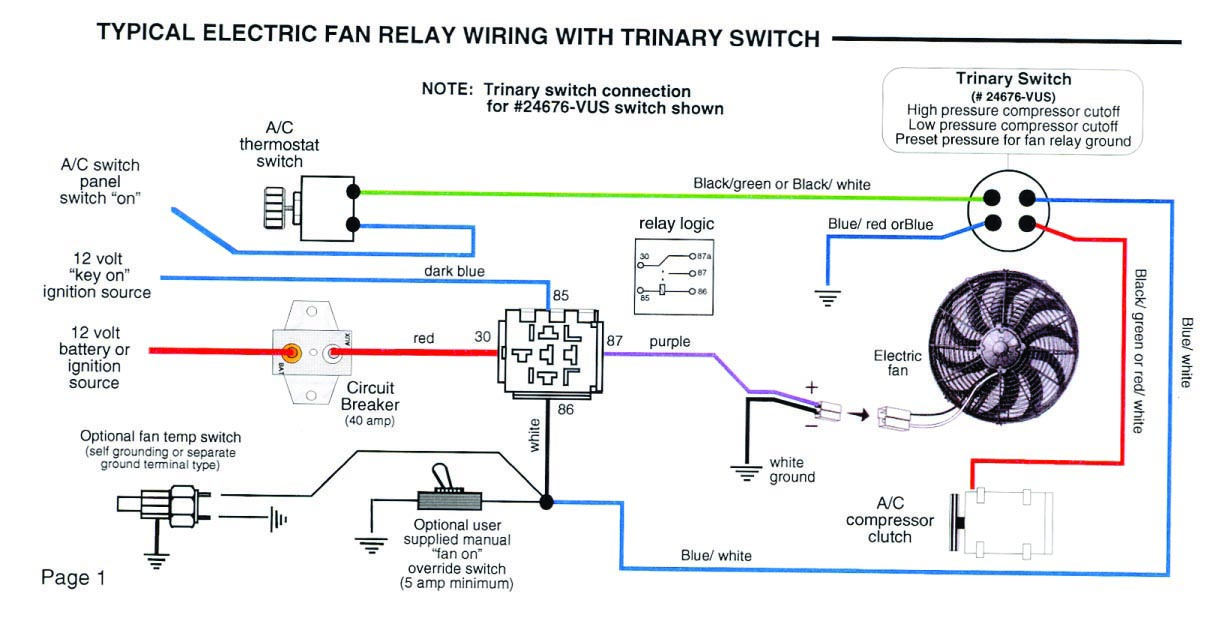 painless fan relay wiring diagram with 78790 Va Trinary Switch Wiring on 2004 3840 Slide Out Wiring Diagram additionally Showthread moreover Instrument Cluster Wiring Diagrams Of further T377 additionally Viewtopic.