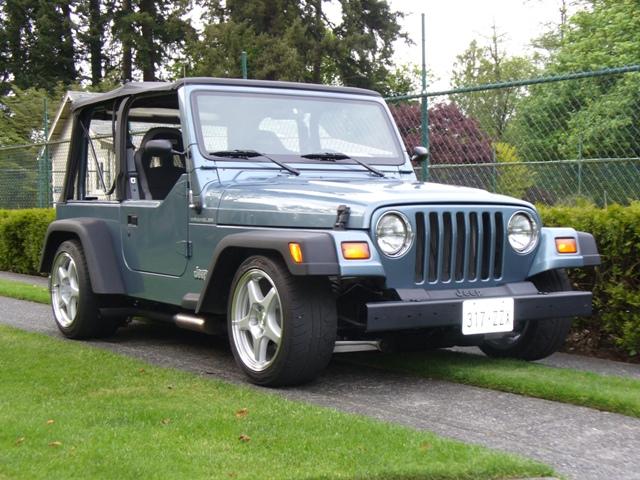 Jeep Wrangler R/T, Pro-Touring Lite
