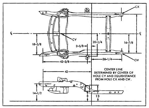 c4 c5 c5 1st gen f body chassis dimensions. Black Bedroom Furniture Sets. Home Design Ideas