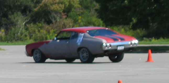 My First Autocross with the Chevelle