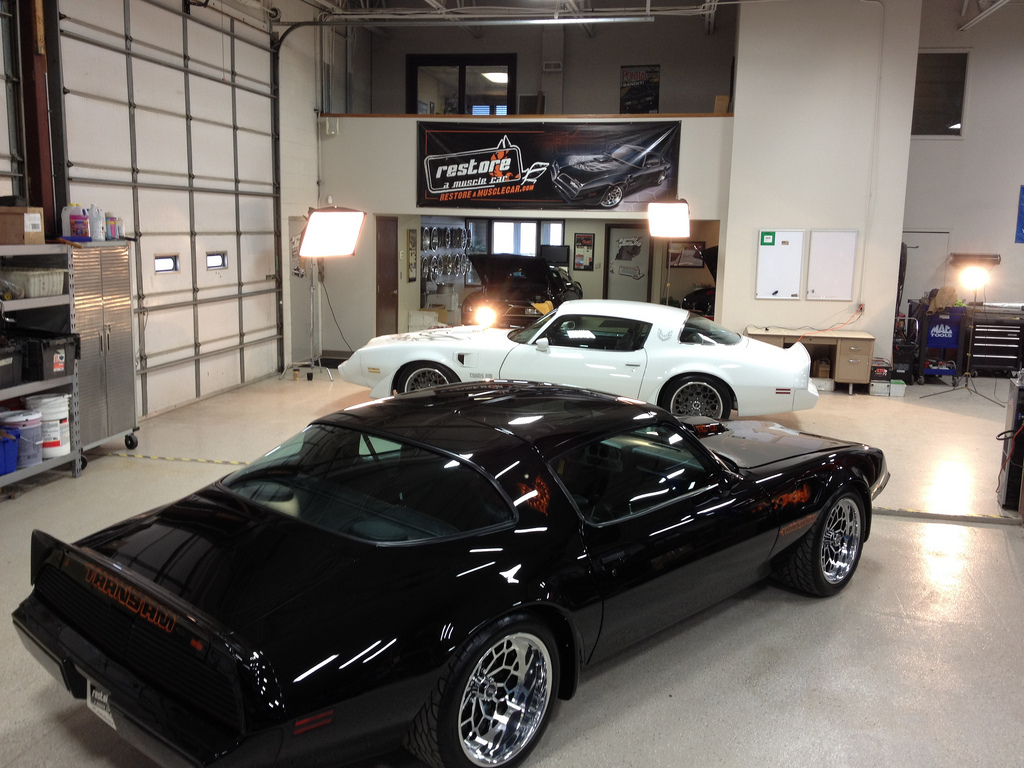 1980 Pro Touring White Trans Am By Restore A Muscle Car