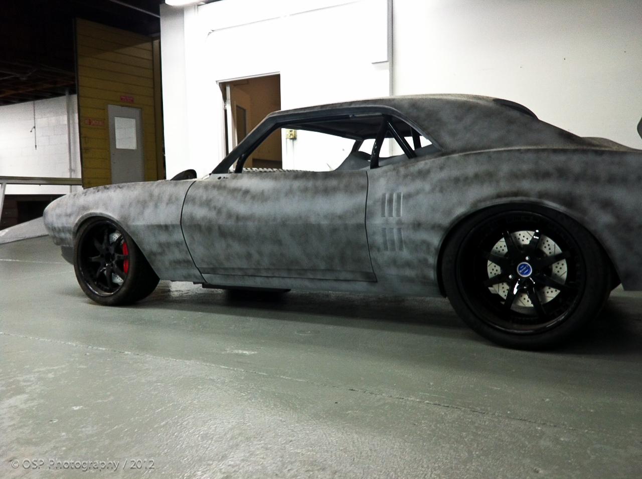 Project Blackbird 1968 Pontiac Firebird