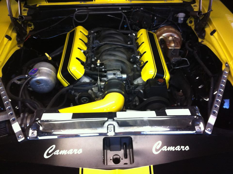 Engine cover ideas?  LS3 w MAGNACHARGER