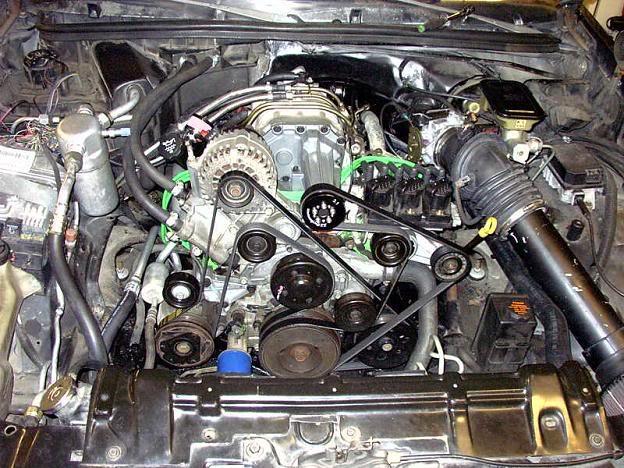 3800 Fiero Engine Swap Harness