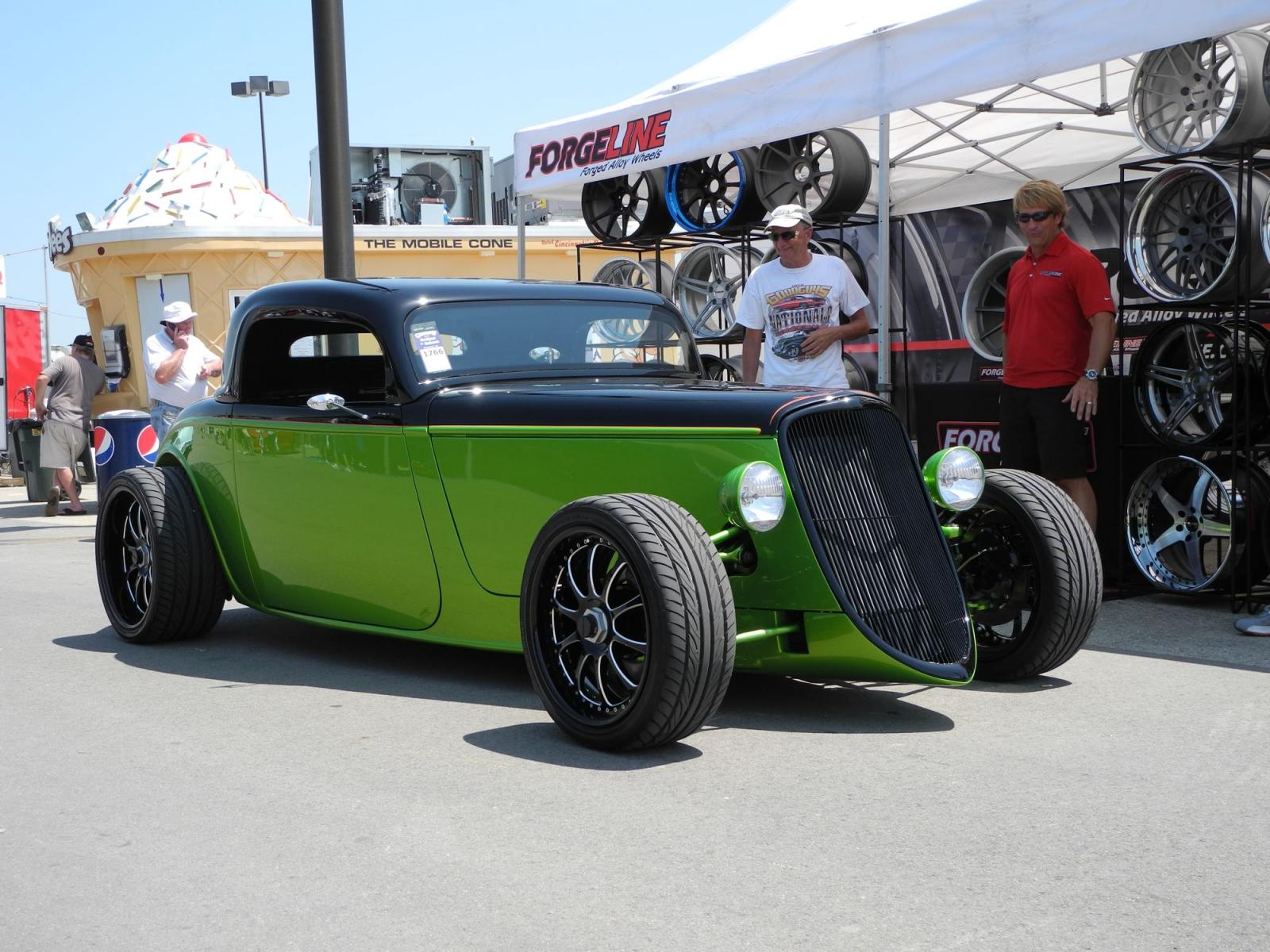 Ford Columbus Ga >> Merle Eschman's '33 Ford Won Builder of the Year on Forgeline ZX3P Center Lock Wheels