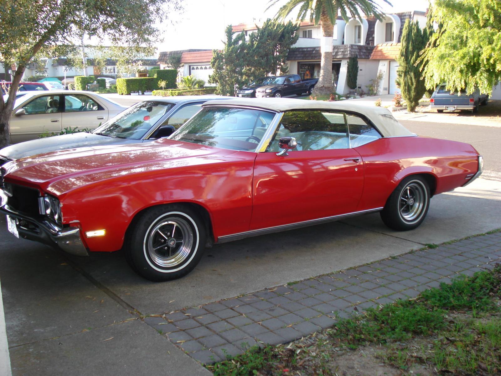 1970 Buick Skylark Convertible Project
