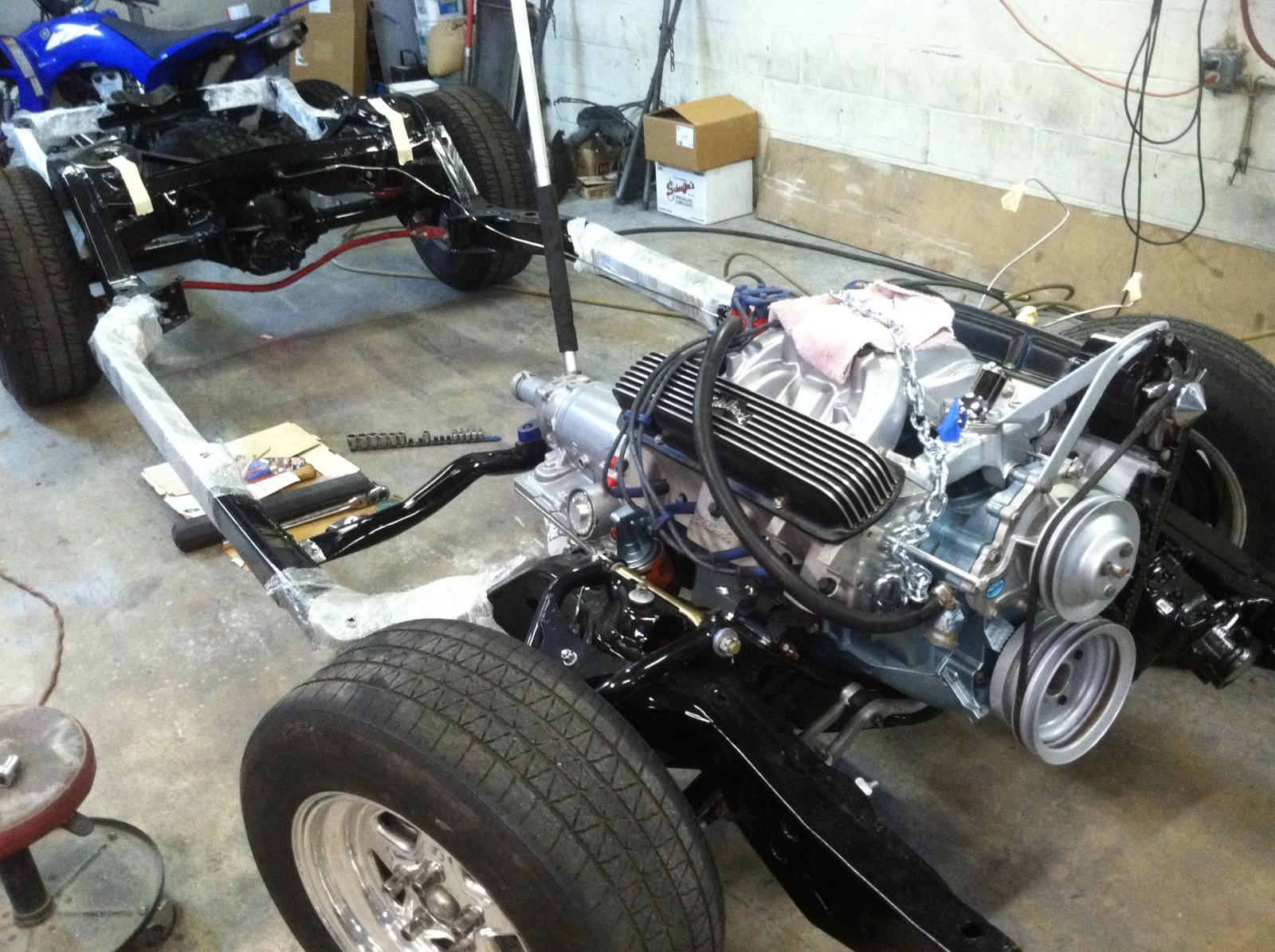how much hp/tq does my pontiac 400 have