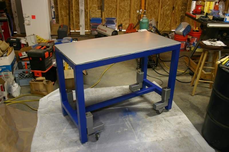 Welding Table Construction Advice Needed